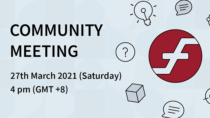 Community Meeting 27th March