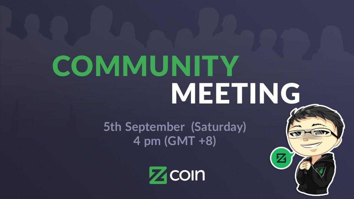 Community meeting 5th September minutes